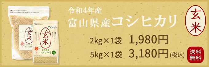 富山コシヒカリ玄米